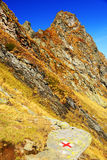 Alpine landscape in the Transylvanian Alps Stock Photography