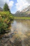 Alpine landscape in Val Veny Stock Photo