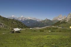 Alpine Landschaft Stockfoto