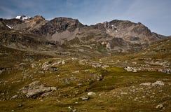 Alpine Landschaft Stockbild