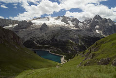 Alpine Landschaft Stockfoto