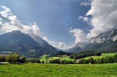 Alpine Landschaft Lizenzfreie Stockbilder