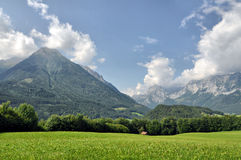 Alpine Landschaft Lizenzfreies Stockfoto