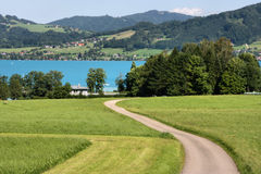 Alpine Landschaft stockfotos