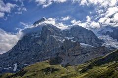 Alpine Landschaft - Eiger Stockfotografie
