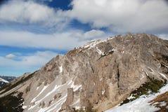Alpine Landschaft, Liechtenstein Stockbild