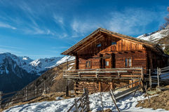 Alpine lodge in Austria Royalty Free Stock Image