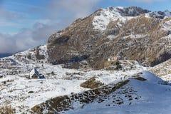 Alpine lodges Royalty Free Stock Image