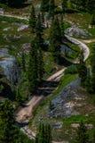 Alpine Loop Colorado stock photography