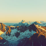 Alpine mountain landscape Royalty Free Stock Images
