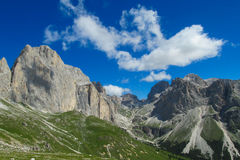 Alpine mountain landscape in summer Royalty Free Stock Image