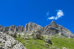 Alpine mountain landscape in summer Stock Image