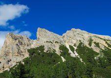 Alpine mountain landscape in summer Stock Images