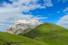 Alpine mountain landscape in summer Royalty Free Stock Photo