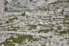 Alpine mountain - limestones Stock Photos