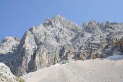Alpine mountain peaks Stock Photography