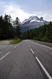 Alpine mountain road Royalty Free Stock Photo