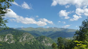 Alpine mountain scenery Stock Photo