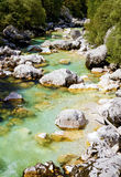 Alpine Mountain Stream Royalty Free Stock Photos