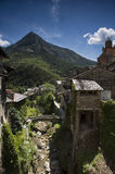 Alpine Mountain at Tende Stock Images