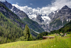 Alpine mountain view in Austria Stock Photos