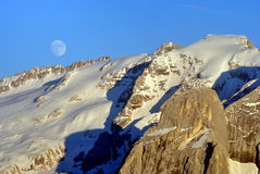 Alpine mountains Royalty Free Stock Images