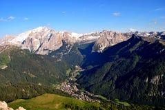 Alpine mountains Royalty Free Stock Photos