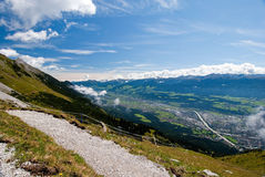 Alpine mountains Royalty Free Stock Photography