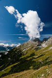 Alpine mountains Royalty Free Stock Photos