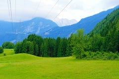 Alpine mountains Stock Photography
