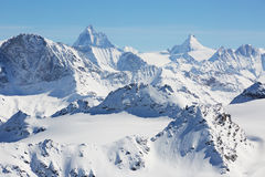Alpine mountains Stock Photo