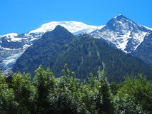 Alpine mountains range landscape in beauty French, Italian and Swiss ALPS royalty free stock photos