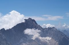 Alpine mountins Royalty Free Stock Photography