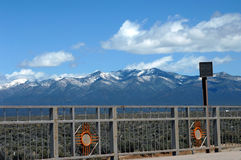 Alpine New Mexico Style Stock Image