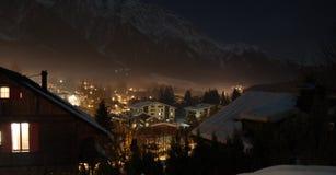 Alpine Night Stock Photography
