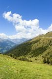 Alpine panorama Stock Photography