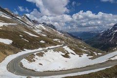 Alpine panorama Stock Photography