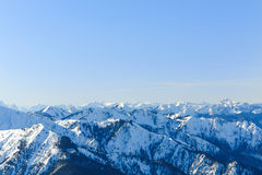 Alpine Panorama III Stock Images