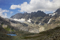Alpine panorama Stock Photos