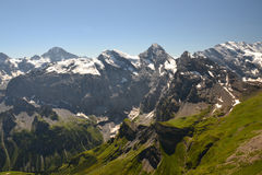 Alpine Panorama Royalty Free Stock Images