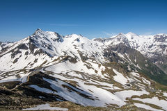 Alpine Panoramic View Royalty Free Stock Photos