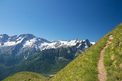 Alpine path Stock Photography