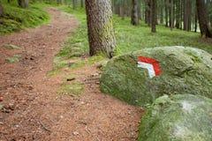 Alpine path Stock Photo