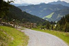 Alpine Path Royalty Free Stock Photo
