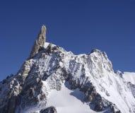 alpine peack: dente del gigante giants thooth Royalty Free Stock Image