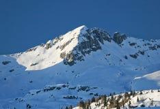 Alpine peak Royalty Free Stock Images