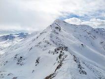 Alpine peak Royalty Free Stock Image