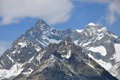 Alpine peaks, Switzerland Stock Photos