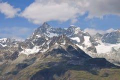 Alpine peaks, Switzerland Royalty Free Stock Images