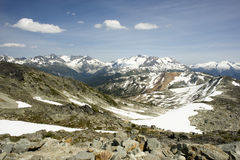 Alpine Peaks, Whistler, Canada Royalty Free Stock Photography